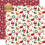 "Echo Park 12""x12"" MERRY AND BRIGHT Collection Kit Christmas Scrapbooksrus"