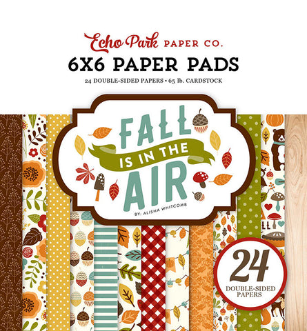 "Echo Park FALL IS IN THE AIR 6""X6"" Paper Pad 24pc"