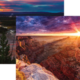 "Reminisce National Parks GRAND CANYON 12""X12"" Scrapbook Paper @scrapbooksrus"