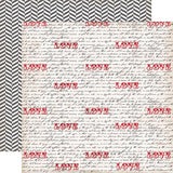 "Echo Park Yours Truly LOVE NOTES 12""X12"" 5pc Scrapbook Kit"