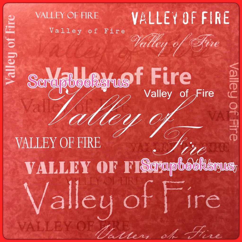 Valley Of Fire Yw 12x12 Custom Travel Scrapbook Paper Scrapbooksrus