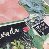 Nevada Watercolor 12X12 Scrapbook Page Kit