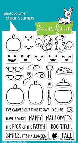 Lawn Fawn PICK OF THE PATCH Clear Stamps Scrapbooksrus
