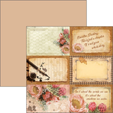 Ciao Bella THE MUSE 6x6 Paper Pad 24 sheets Scrapbooksrus