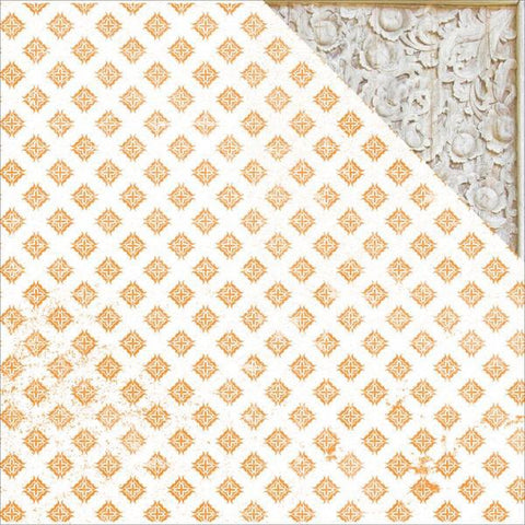 "Kaisercraft Bombay Sunset SILK 12""X12"" Scrapbook Sheet Scrapbooksrus"