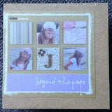 Kaisercraft Beyond The Page MINI WOOD CANVAS Art Shape - Scrapbook Kyandyland
