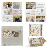 "We R Memory SHEER METALLIC Transparency 12""X12"" 1 Sheet - Scrapbook Kyandyland"