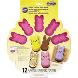 Peeps BUNNY TREAT Mold 12 pc. Scrapbooksrus