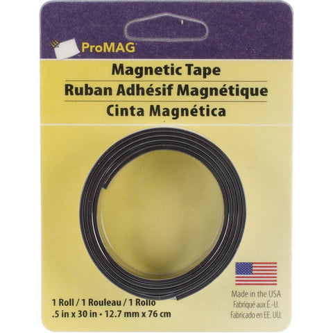 "ProMag MAGNETIC TAPE Adhesive .5""x 30"" 1 roll - Scrapbook Kyandyland"