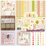 Carta Bella IT'S A GIRL Scrapbook Kit Baby