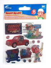 Disney Ek Success HANDY MANNY Stickers 11pc - Scrapbook Kyandyland
