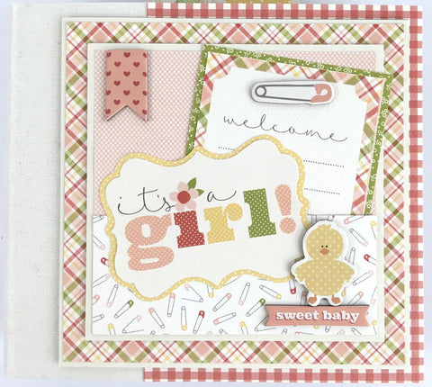 Carta Bella IT'S A GIRL Scrapbook Kit