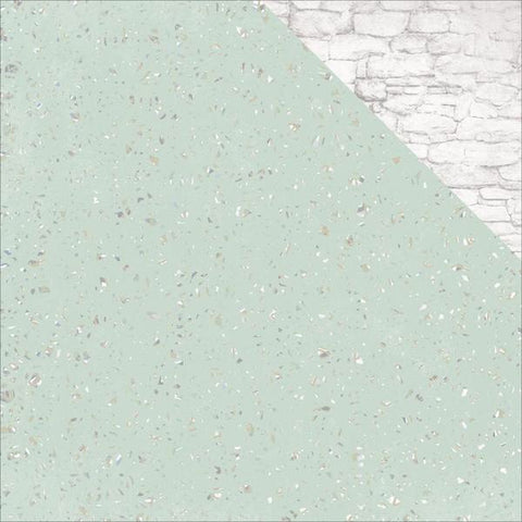 "Kaisercraft Sage And Grace GRANITE 12""X12"" Scrapbook Sheet Scrapbooksrus"