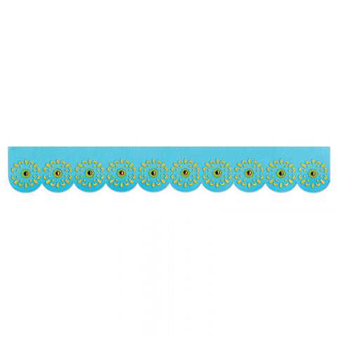 Sizzix Sizzlits Decorative Strip SUNFLOWERS Die Border