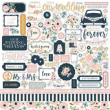 "Echo Park 12""x12"" JUST MARRIED Collection Kit"