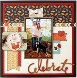 "Carta Bella Fall Blessings 3X4 JOURNALING CARDS 12""x12"" Paper"
