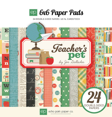 "Echo Park TEACHERS PET 6""X6"" Paper Pad"