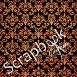 "Scrapbook Customs HALLOWEEN 12""X12"" Cardstock Paper - Scrapbook Kyandyland"