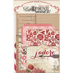 MY Mind's Eye LOST & FOUND Valentines Heirloom Pockets - Scrapbook Kyandyland