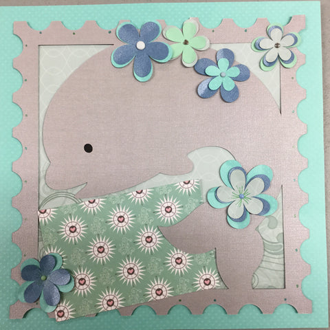 Page Kit 12x12 Scrapbook DOLPHIN Scrapbooksrus