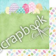 BUNCHES OF EGGS Scrapbook Customs 12X12 Paper Collection