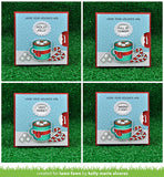 Lawn Fawn Cuts REVEAL WHEEL SQUARE ADD-ON Die Sample @scrapbooksrus las vegas