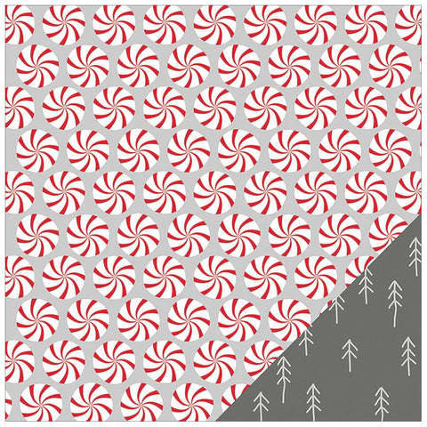 "Studio Calico PEPPERMINT TWISTS Magical Collection 12""X12"" Sheet - Scrapbook Kyandyland"