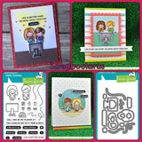 Lawn Fawn Screen Time Stamp Samples @scrapbooksrus