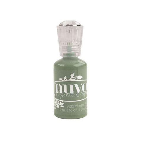 Nuvo crystal drops OLIVE BRANCH Glue 1oz Scrapbooksrus