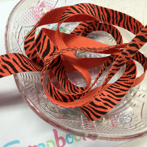 Creative Impressions TIGER TWILL RIBBON 1 yd Scrapbooksrus Scrapbook Store