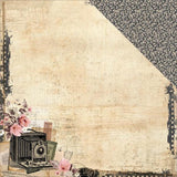 "Kaisercraft Keepsake Collection CAPTURED 12""X12"" Scrapbook Paper"