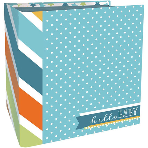 Paper House Flipbook BABY BOY Scrapbook Album