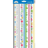 Doodlebug Fancy Frills ON THE GO Cardstock Sticker Sheet