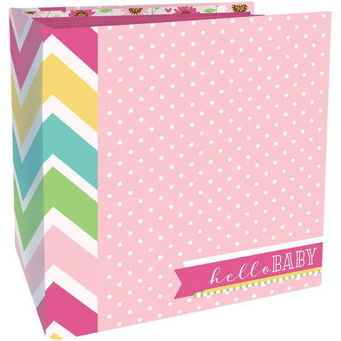 Paper House Flipbook BABY GIRL Scrapbook Album