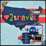 "Carta Bella TRAVEL STORIES 6""X6"" Paper Pad"