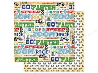 "Carta Bella Cartopia FASTER 12""x12"" Race Paper"