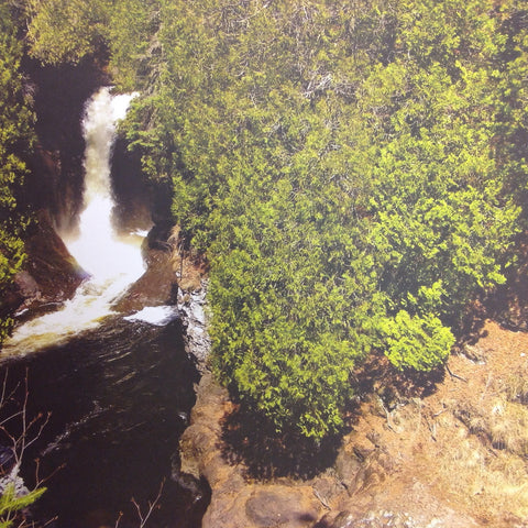 "McRice Photo WATERFALL 12""X12"" Sheet - Scrapbook Kyandyland"