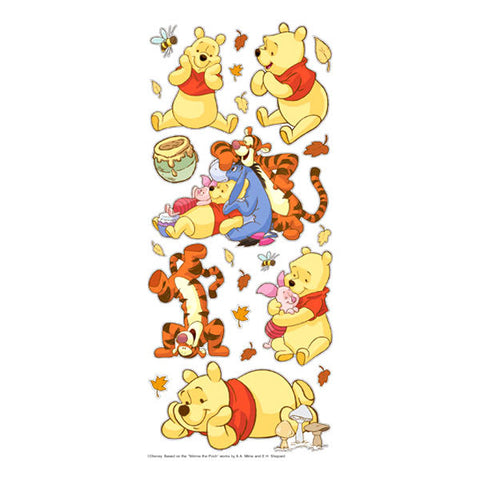 Disney Ek Success WINNIE THE POOH Stickers 21pc