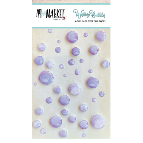 49 and Market Wishing Bubbles GRAPE SODA 38 pc. Scrapbooksrus