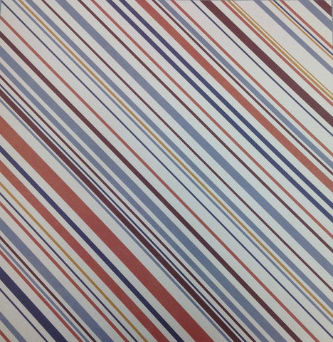 Kyandyland EARTHLY STRIPES 12x12 Scrapbook Papers 2pc - Scrapbook Kyandyland