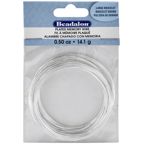 Beadalon Silver Plated WIRE 26 Gauge