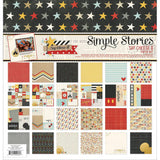"Simple Stories NEVER GROW UP Paper Pack 12""X12"" 12pc - Scrapbook Kyandyland"