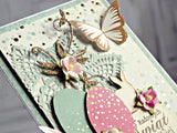 "Kaisercraft ALL THAT GLITTERS Foiled Cardstock 12""X12"" - Scrapbook Kyandyland"