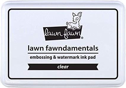 Lawn fawndamentals CLEAR Ink Pad Scrapbooksrus