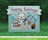 Lawn Fawn BEARY HAPPY HOLIDAYS Craft Dies Scrapbooksrus