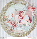 "Kaisercraft Sage And Grace GRACEFUL 12""X12"" Scrapbook Sheet Scrapbooksrus"