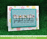 Lawn Fawn WINTER SCRIPTY SENTIMENTS Clear Stamps 9pc