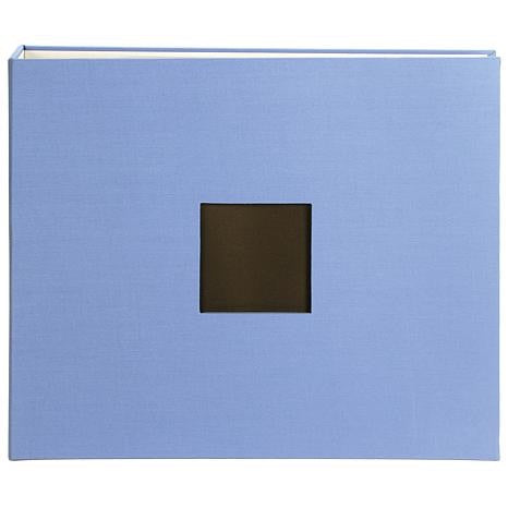 "American Crafts Cloth D-Ring Album 12""x12"" Blue"