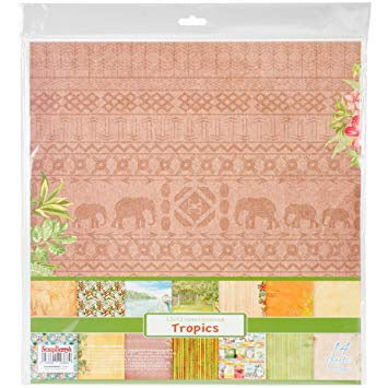 ScrapBerry's TROPICS 12X12 Tropical Paper Collection