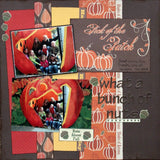 "Moxxie FOREVER FALL Collection 12""X12"" Scrapbook Paper - Scrapbook Kyandyland"
